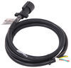 Mighty Cord 7-Way RV-Style Trailer Connector w/ Molded Cable - Trailer End - 8' Long Plug and Lead A10-7W8