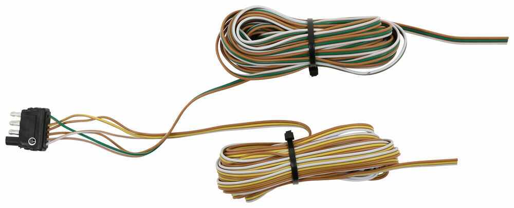 Flat Rewire Trailer Wire Light Cable 14 GA 4 Way 25 ft Bonded