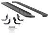 aries automotive nerf bars - running boards steel ridgestep w/ custom installation kit 6-1/2 inch wide powder coated