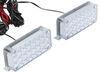 Alpena Twin Strobz Amber LED Flashers Rectangle ALP77234