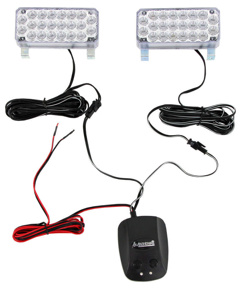 Alpena Rectangle Vehicle Lights - ALP77234