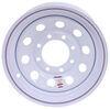 dexstar trailer tires and wheels wheel only 16 inch steel mini mod - x 6 rim 8 on 6-1/2 white powder coat