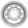 dexstar trailer tires and wheels wheel only 8 on 6-1/2 inch steel mod w/+0.5 offset - 16 x 6 rim silver sparkle
