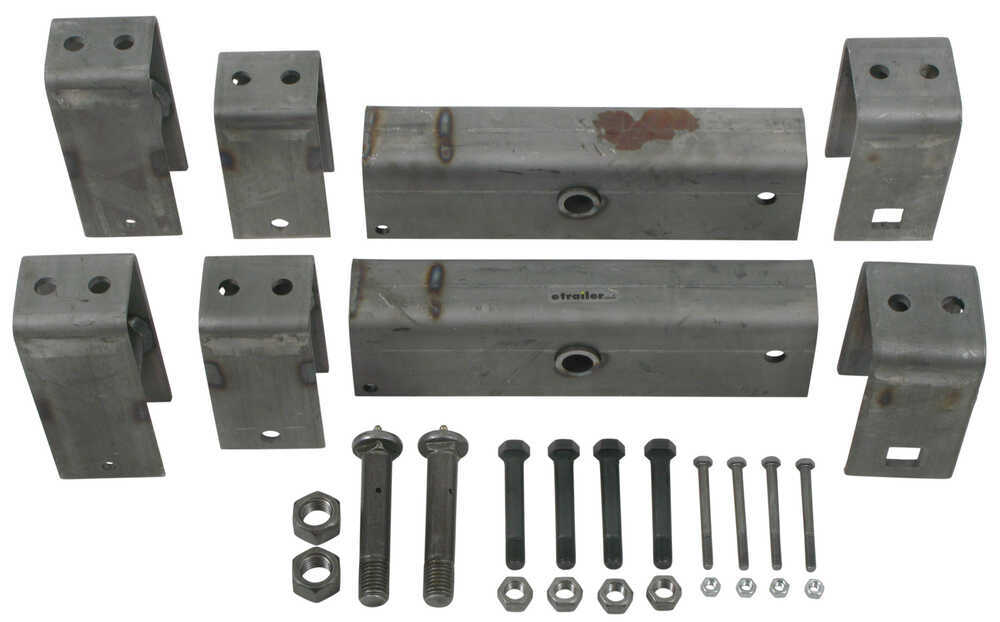 "Tandem-Axle Trailer Hanger Kit for 2"" Slipper Springs - 13-1/8"" Long Equalizers Tandem Axle AP216-H238"