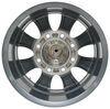 "Aluminum Viking Series Valkyrie Trailer Wheel - 16"" x 6-1/2"" - 8 on 6-1/2 - Gunmetal Gray Best Rust Resistance AX02665865HDGMML"