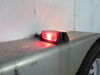 Incandescent Trailer Fender Light w/ Reflector - 2 Bulbs - Red and Amber Lens - Passenger Side Red and Amber BA44FNR