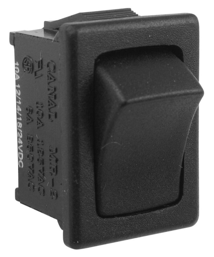 Replacement Mini-Rocker Switch for Ventline Ventadome Trailer Roof Vents Switch BL0108-00