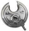 "Blaylock EZ Lock Trailer Coupler Lock for 1-7/8"", 2"", and 2-5/16"" Couplers - Aluminum Aluminum BLTL-33-40D"