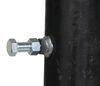 b and w gooseneck trailer coupler round tube 2-5/16 inch ball