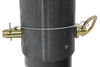 b and w gooseneck trailer coupler with outer inner tube b&w defender locking - adjustable round 2-5/16 inch ball 25 000 lbs