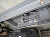 2005 dodge ram pickup gooseneck hitch b and w manual ball removal removable - stores in on a vehicle