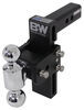 B and W Two Balls Trailer Hitch Ball Mount - BWTS10040B