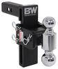 "B&W Tow & Stow 2-Ball Mount - 2"" Hitch - 7"" Drop, 7-1/2"" Rise - 10K - Black Class IV,10000 lbs GTW BWTS10040B"