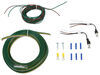 Blue Ox Tail Light Wiring Kit for Towed Vehicles - LED Bulb and Socket - Red Bulb and Socket Kit BX88267