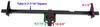 curt rv and camper hitch 22 - 66 inch wide frame dimensions