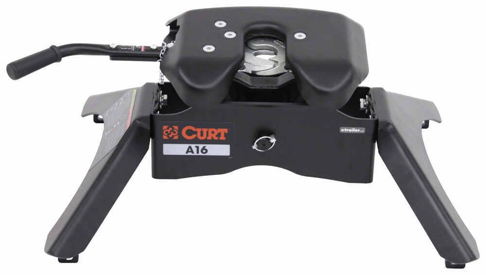 Curt A16 5th Wheel Trailer Hitch - Dual Jaw - 16,000 lbs 13 - 17 Inch Tall C16120