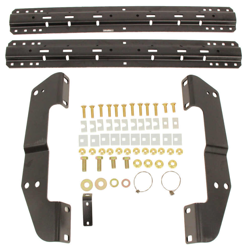 Curt Custom Fifth Wheel Installation Kit for Chevy/GMC - Carbide Finish Above the Bed C16418-204
