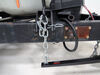 0  weight distribution curt wd only electric brake compatible surge system with shank - pin-style trunnion bar 8000 lbs gtw 800 tw