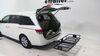 C18153 - Fits 2 Inch Hitch Curt Flat Carrier on 2014 Honda Odyssey