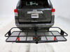 """23x60 Curt Cargo Carrier for 2"""" Hitches - Steel - Folding - 500 lbs Folding Carrier C18153"""