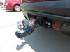 0  trailer hitch ball mount curt one drop - 2 inch rise 3/4 in use