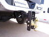 """Curt Adjustable 2-Ball Mount - 2-1/2"""" Hitch - 6"""" Drop, 5-1/4"""" Rise - 20K Drop - 6 Inch,Rise - 5 Inch C45902"""