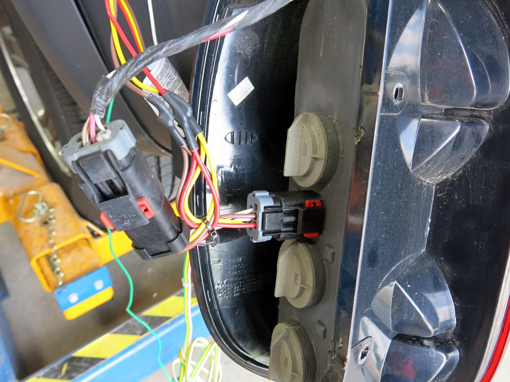 2005 Jeep Liberty Curt T-Connector Vehicle Wiring Harness ...