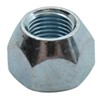 ce smith accessories and parts hex nut 60-degree cone trailer wheel lug - zinc-plated steel 1/2 inch qty 1