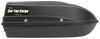Car Top Cargo Rooftop Cargo Box - 9 cu ft - Black Extra Short Length 283-RBSM