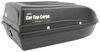 Car Top Cargo Rooftop Cargo Box - 9 cu ft - Black High Profile 283-RBSM