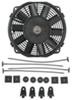 derale radiator fans 8 inch diameter dyno-cool straight-blade electric fan - 350 cfm
