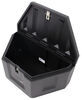 DeeZee Specialty Series Trailer Tongue Toolbox - A-Frame - Plastic - 6 Cu Ft - Black 19-1/2 Inch Wide DZ91717P