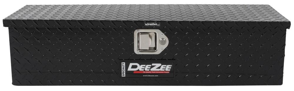 DeeZee Specialty Series ATV Toolbox - Utility Chest Style - Aluminum - 2 Cu Ft - Black 2 Cubic Feet DZM206