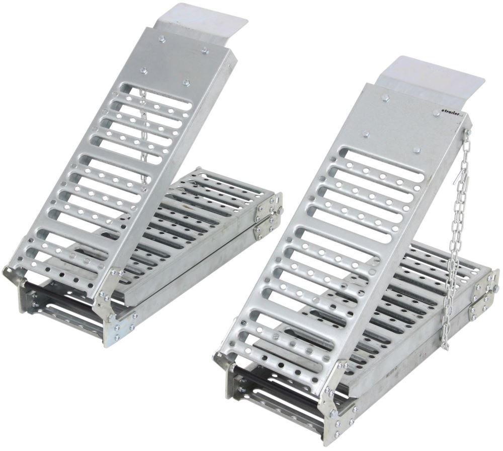 "1000 lb Capacity 72/"" Folding Steel Loading Ramps Bike ATV Lawnmower 26/""X9/""X6.25/"""