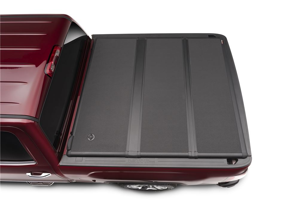 Extang EnCore Hard Tonneau Cover - Folding - Fiberglass-Reinforced Plastic - Locking - Black Matte Low Profile EX62720