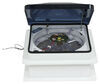 fantastic vent rv vents and fans roof with 12v fan fan-tastic w/ - manual lift 14-1/4 inch x