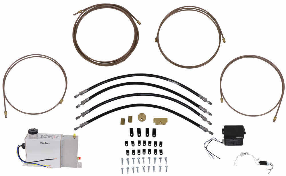 HydraStar Electric Over Hydraulic Actuator Kit for Disc Brakes - 1,600 psi Disc Brakes HBA16-252-82