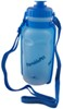 heininger holdings pet supplies  portablepet portabottle travel water container with flip-down bowl - 20 oz