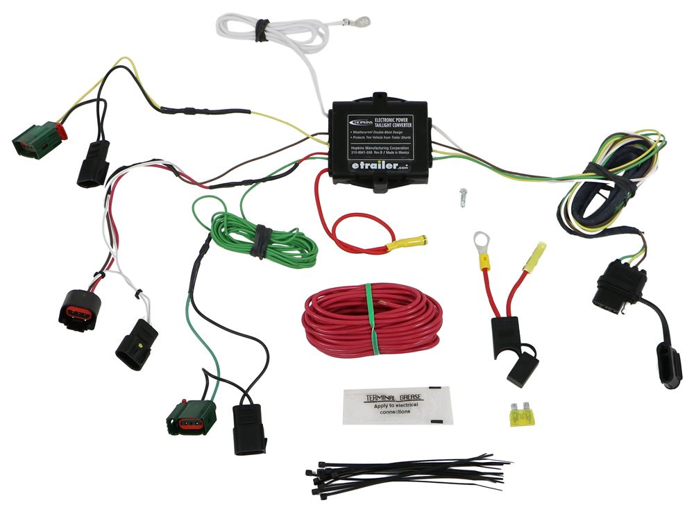 Custom Fit Vehicle Wiring HM11142155 - Custom Fit - Hopkins