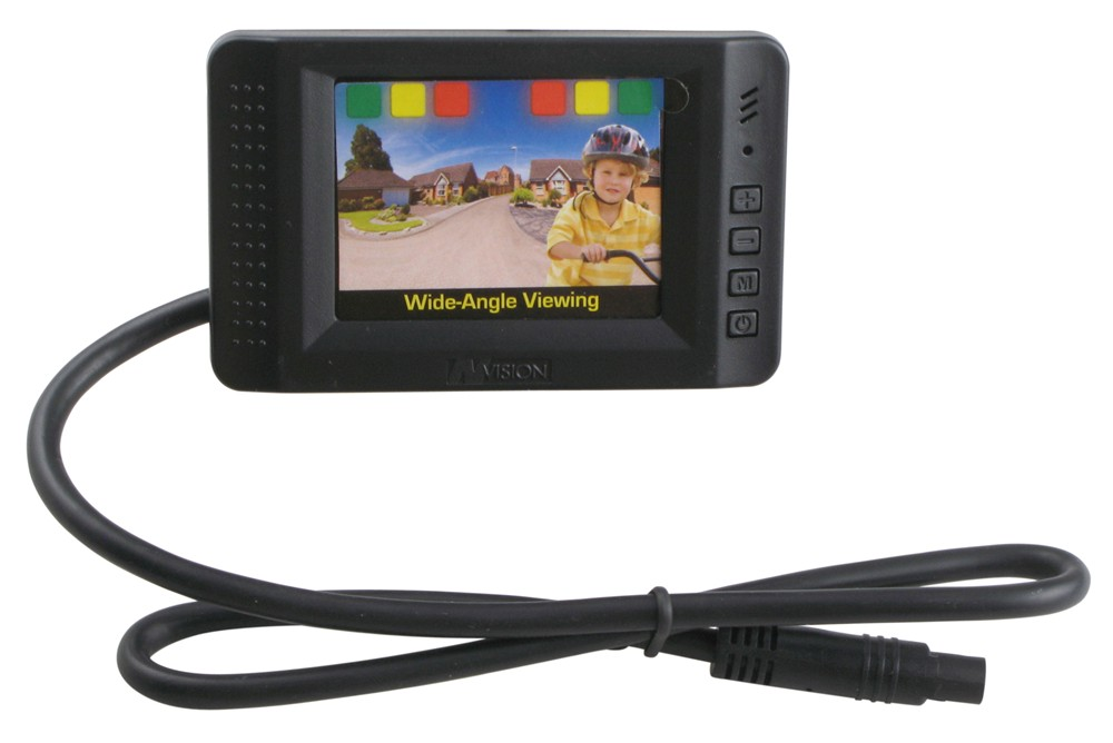 "Hopkins Rear View Camera with Backup Sensors - 2-1/2"" LCD 2.5 Inch Display HM60195VA"