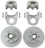 kodiak trailer brakes hub and rotor 6000 lbs axle disc brake kit - 12 inch hub/rotor 6 on 5-1/2 dacromet stainless 000