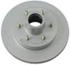 kodiak trailer brakes disc hub and rotor brake kit - 12 inch hub/rotor 6 on 5-1/2 dacromet stainless 000 lbs
