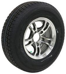 *2* Lionshead 15x5 Aluminum Trailer Wheels Lynx Black 5-4.5 boat camper rv boat