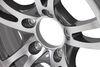 lionshead trailer tires and wheels wheel only 5 on 4-1/2 inch aluminum jaguar - 14 x 5-1/2 rim gunmetal gray