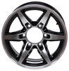 lionshead trailer tires and wheels wheel only 15 inch aluminum bobcat - x 6 rim on 5-1/2 black