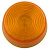 optronics trailer lights submersible 2 inch diameter clearance and side marker light - incandescent round amber lens