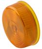 optronics trailer lights clearance submersible and side marker light - incandescent round amber lens