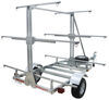 malone trailers roof rack on wheels megasport outfitter 3 tier trailer for boat fleet - 14' long 1000 lbs