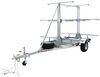 malone trailers roof rack on wheels 14 feet long megasport outfitter 3 tier trailer for boat fleet - 14' 1000 lbs
