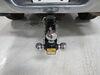 0  trailer hitch ball mount maxxtow adjustable drop - 6 inch rise mt70197
